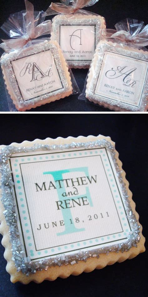 Wedding Favor Idea Sted Shortbread Cookies by 132 Best Ideas About Wedding Favors On Wedding