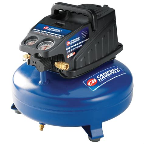 cbell hausfeld 174 4 gallon pancake air compressor 167124 air tools at sportsman s guide
