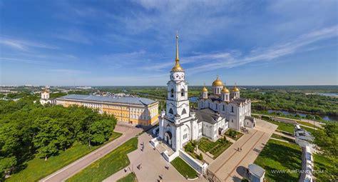 Virtual Decorating golden ring of russia vladimir 360 176 aerial panoramas