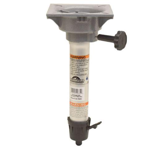 how to measure boat seat pedestal springfield marine boat seat pedestal 1600635 14 5 8