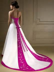 wedding dress colors wedding dress with color wedding dress with color light