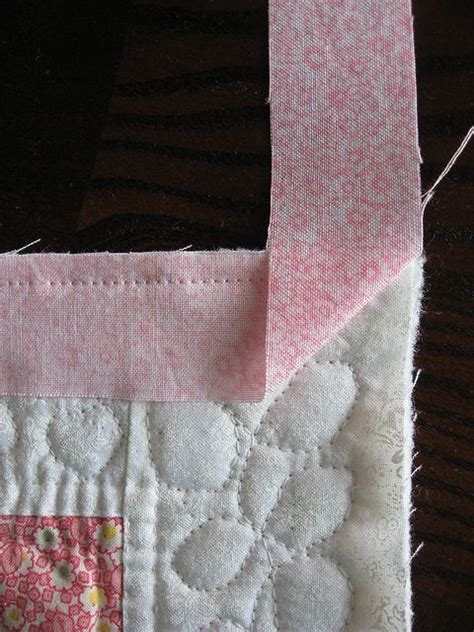 Mitered Corners On Quilt by Tutorial Quilt Binding With Mitered Corners Pictures
