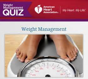 weight management quiz keeping the weight
