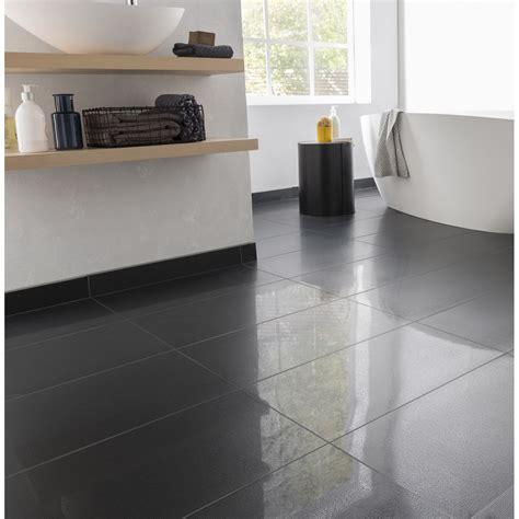 carrelage cuisine noir brillant carrelage sol et mur noir effet uni piano l 30 x l 60 cm