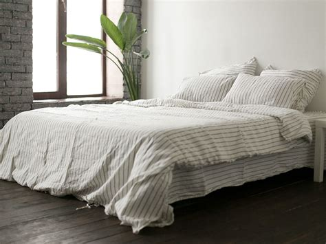 bed linen reviews wide striped 200ñ 220 linen bedding â buy in kyiv and