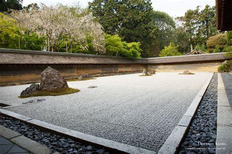 Kyoto Rock Garden Ryōan Ji Discover Kyoto