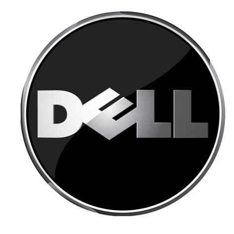 black dell logo icon png   icons  png