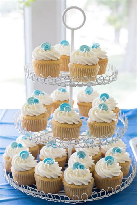 Boy Baby Shower Cup Cakes by Baby Shower Ideas And Cupcakes That Are As A Button