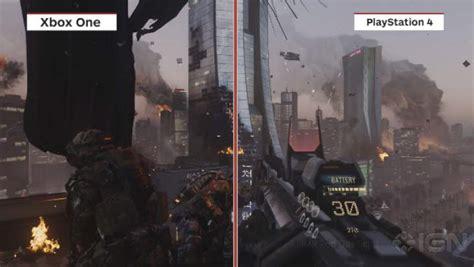 ps4 themes advanced warfare cod advanced warfare ps4 vs xbox one vs pc graphics