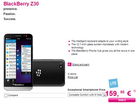 t mobile germany t mobile germany launches blackberry z30 blackberry empire