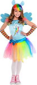 my little pony halloween costumes for kids girls rainbow dash costume my little pony