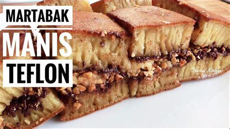 Teflon Martabak Manis resep martabak manis terang bulan teflon thick pancake recipe trivina kitchen