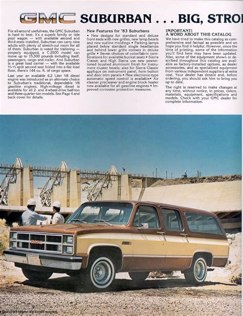 old cars and repair manuals free 1983 chevrolet caprice electronic throttle control 1983 chevrolet and gmc truck brochures 1983 gmc suburban 02 jpg