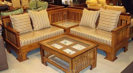 Kursi Sudut Busa Minimalis kursi tamu sudut kayu jati asli mebel jepara murah gudang mebel jepara