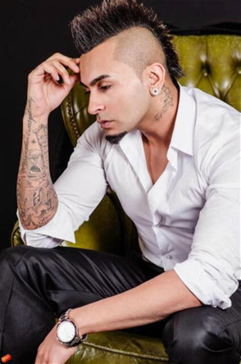 hair cut boy new punjabi uk punjabi singer kamal raja mohawk hairstyle 2013 cool
