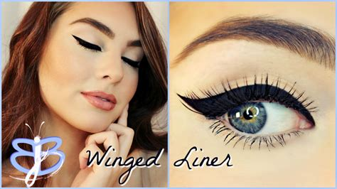 perfect winged eyeliner tutorial youtube how to perfect winged liner tutorial