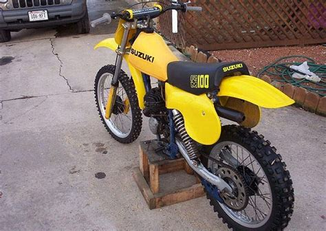 Suzuki Rm100 Index Of Images Thumb 7 7a 1980 Suzuki Rm100 Yellow 1762