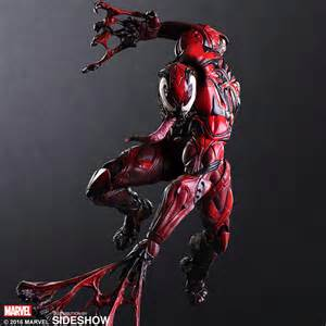 marvel venom collectible figure by square enix sideshow collectibles