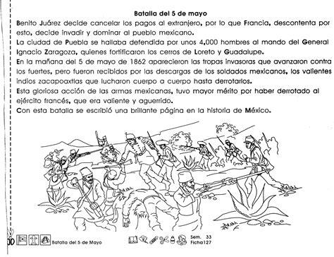 Resumen 5 De Mayo by Batalla 5 De Mayo 3er Grado Material De Aprendizaje