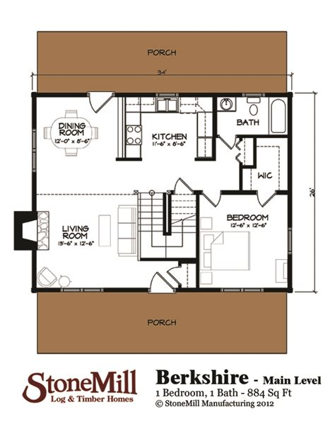 berkshire floor plan berkshire ii floor plan stonemill log timber homes