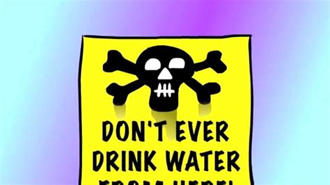an energy drink slogan don t drink water from here