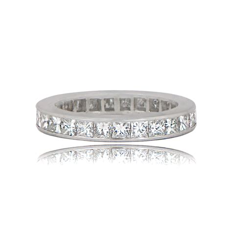 Wedding Bands Princess Cut by Princess Cut Wedding Band