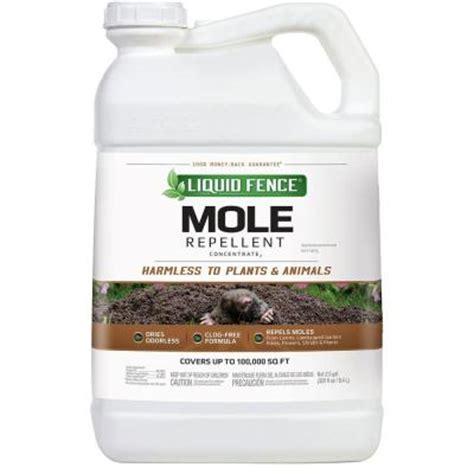 liquid fence 2 5 gal mole repellent concentrate hg 70168
