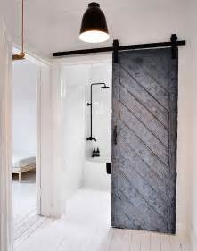 Pictures Of Sliding Barn Doors 15 Sliding Barn Doors That Bring Rustic To The Bathroom