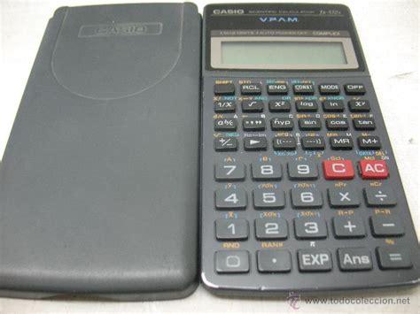 casio calculadora cientifica fx  complex vendido