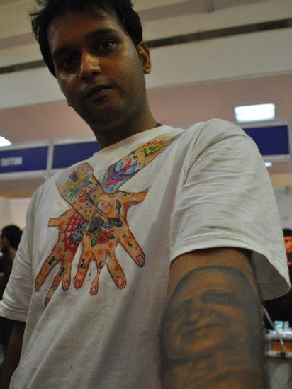 tattoo convention india bbc news in pictures india s tattoo convention