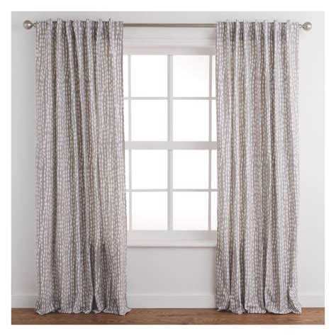 Grey Patterned Curtains Trene Pair Of Grey Patterned Curtains 145 X 230cm Buy Now At Habitat Uk