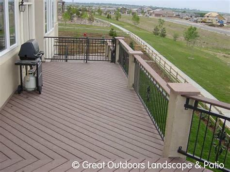 denver colorado landscaping decks patios