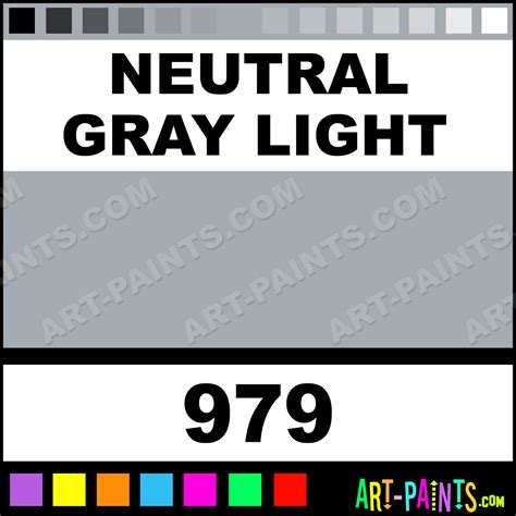 neutral gray light studio acrylic paints 979 neutral gray light paint neutral gray light