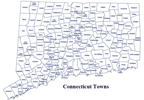 map of ct towns real property official records search