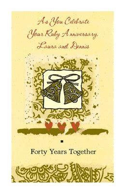 printable cards american greetings printable card forty years together weddings