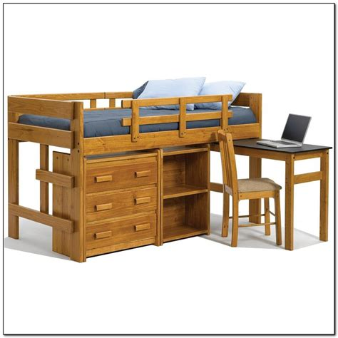 loft bed with storage and desk twin loft bed with desk and storage beds home design