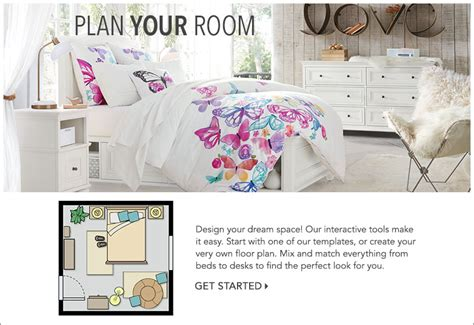 create your own dream room design your own room pbteen