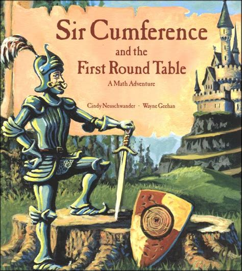 sir cumference and the table a math adventure
