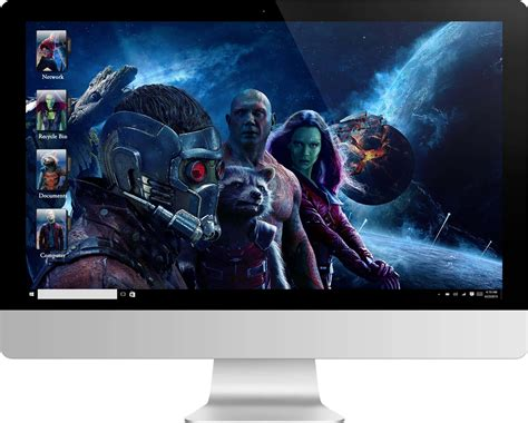 galaxy themes win7 guardians of the galaxy 2 windows 7 theme and windows 10 theme