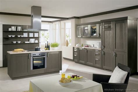 Grey Modern Kitchen Cabinets Pictures Of Kitchens Modern Gray Kitchen Cabinets Kitchen 2