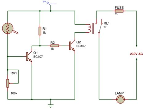 light dependent resistor in a circuit this is the light fence schematic diagram uses ldr this get free image about wiring diagram