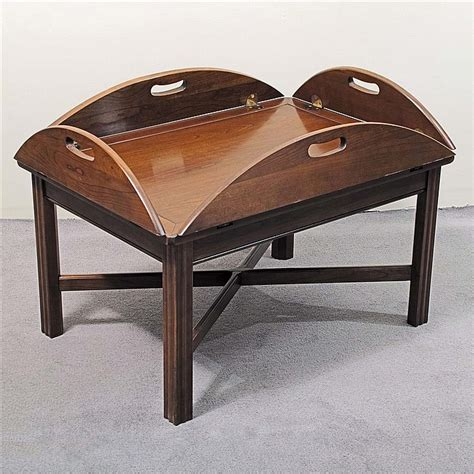 Coffee Table Vintage Quot Butler Quot Style Maple Manufactured By Butler Coffee Table