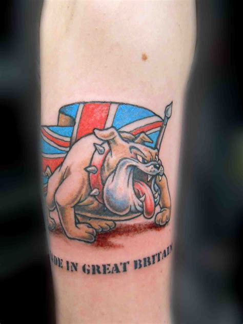 british flag tattoo designs bulldog tattoos future