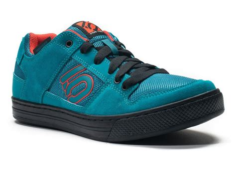 5 10 bike shoes five ten freerider flat mtb cycling shoes teal