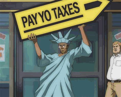 Boondocks Memes - pay yo taxes the boondocks know your meme