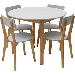 3 hot deals for small kitchen table with reviews home hygena rye black or white dining table and 4 chairs 163 62 99