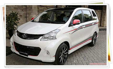 Lu Mobil Toyota Avanza harga dan spesifikasi mobil toyota avanza veloz luxury terbaru 2015