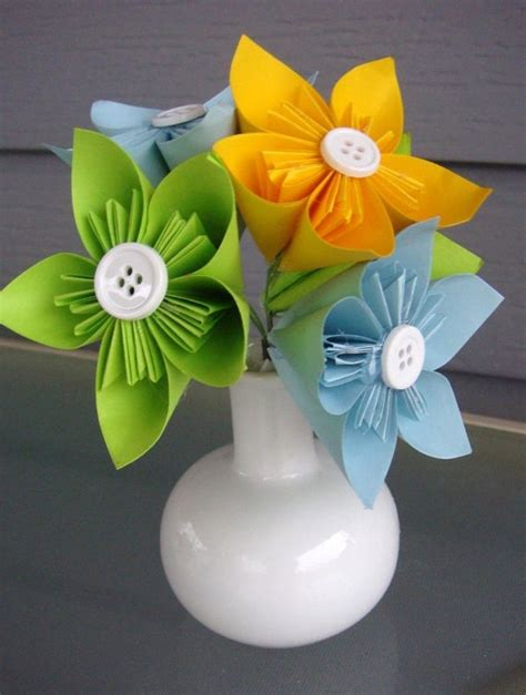 Origami Flower Arrangements - origami paper flower arrangement lydia