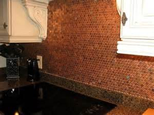 Penny Kitchen Backsplash Theo S Design Blog A Penny For Your Thoughts
