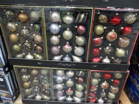hand painted glass christmas ornaments set